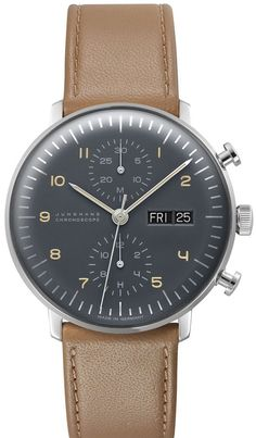 @junghansgermany  Watch Max Bill Chronoscope #bezel-fixed #bracelet-strap-leather #case-depth-14-4mm #case-material-steel #case-width-40mm #chronograph-yes #date-yes #delivery-timescale-call-us #description-done #dial-colour-silver #gender-mens #luxury #movement-automatic #official-stockist-for-junghans-watches #packaging-junghans-watch-packaging #style-dress #subcat-max-bill #supplier-model-no-027-4501-01 #vip-exclusive #warranty-junghans-official-2-year-guarantee #water-resistant-wa...