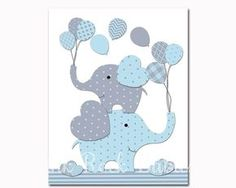 Blue elephant nursery wall art, baby boy nursery decoration, kids room artwork, blue grey, elephants wall decor children room poster for boy ..................... ** This listing is for one unframed high quality print that is 8 x 10 inches tall. If you need a special size just contact me. I can print to most any dimensions you need. ** You will receive real photographs, not inkjet prints. All my prints are professionally printed on matte high quality photo paper with premium inks. All my pri