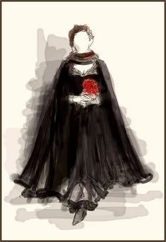 Costume sketches for The Phantom of the Opera movie (2004)