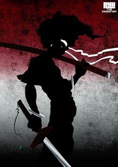 Afro Samurai artwork