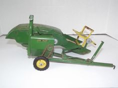 Vintage 1948 -1955 ESKA Ertl John Deere 12A Combine Conveyor Farm Implement Toy #Eska #JohnDeere