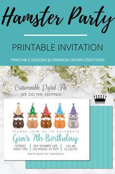 Digital Invitations, Printable Invitations, Party Printables, Dinosaur Party, Dinosaur Birthday, Birthday Invitations Kids, Birthday Party Themes, Theme Ideas, Party Ideas