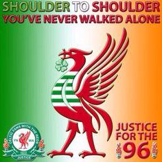 YNWA Liverpool Fc Shirt, Liverpool Football Club, Liverpool You'll Never Walk Alone, Celtic Fc, Alliteration, Best Football Team, Soccer Fans, Glasgow, Funny Pics