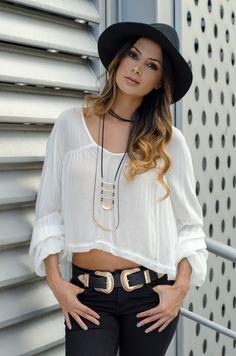 Choker Innocence Cloth Fashion Blouse Style Bracelet Hat Boho Bohochic Belt Blusa Brazalete Jean Cinturón Sombrero