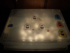 Light Box Storytelling with the Three Ghost Friends