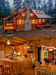 Dream house #LogHomeDecorating