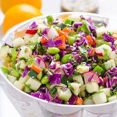 Chopped Asian Zucchini Salad Recipe on Yummly