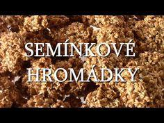 Semínkové hromádky / Helenčino pečení - YouTube Cereal, Breakfast, Desserts, Youtube, Food, New Years Eve, Morning Coffee, Tailgate Desserts, Deserts