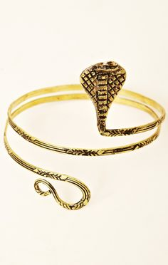 snake coil arm band // Natalie B Jewelry #planetblue #giftguide #wishlist