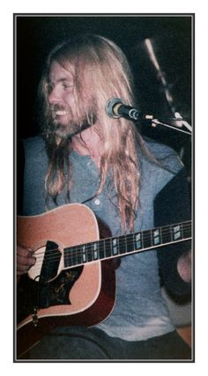 Gregg at The Channel - Boston 1985