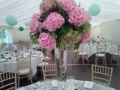 Marquee wedding, wedding planning and venue styling. Blue Thistle Weddings