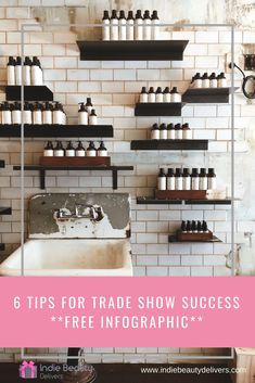 6 Tips for Trade Show Success - Indie Beauty Delivers Feeling Isolated, Free Infographic, Brand It, Trade Show, Indie Brands, Larger, Creativity, Challenge, Success