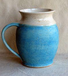 Handmade pottery ceramic clay Wheel thrown by Lesliefreemandesigns, $120.00