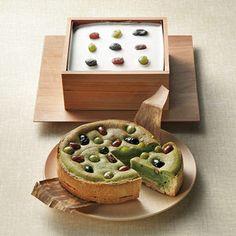 京都よりお届けする和スイーツ。【絹ごし緑茶てぃらみす・抹茶タルト】