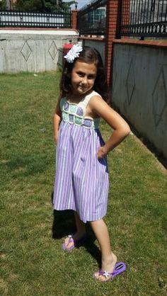 Kızıma ördüğüm elbise