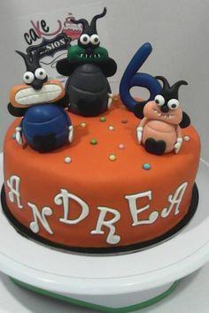 Super Bugs Cake - Torta Super Insetti