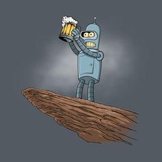 THE BEER KING T-Shirt - Futurama T-Shirt is $11 today at Ript!