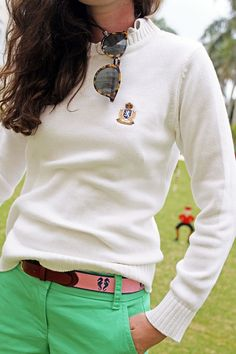 Love this outfit from Classy Girls Wear Pearls. Estilo Preppy, Estilo Navy, Adrette Outfits, Preppy Outfits, Summer Outfits, Preppy Clothes, Preppy Mode, Preppy Girl, Prep Style