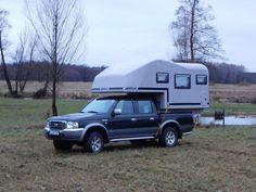 Aero one pickup camper, wohnkabine, demountable camper Pickup Camper, Recreational Vehicles, 4x4, Trucks, Camper, Truck, Campers, Single Wide