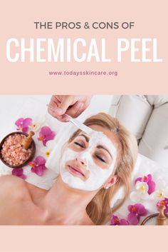 In natural aging skin care, doctors use chemical peeling as a procedure to remove sun damaged, pigmented and wrinkled skin by peeling it with chemicals Skin Peeling On Face, Facial Scars, Chemical Peel, How To Treat Acne, Skin Treatments, Good Skin, Glowing Skin, Natural Skin Care, Skin Care Tips