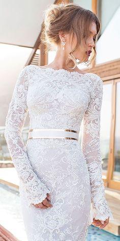 Totally Unique Fashion Forward Wedding Dresses ❤ See more: http://www.weddingforward.com/fashion-forward-wedding-dresses/ #weddings #weddingmakeup