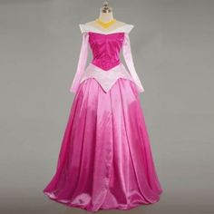 Princess Aurora Costume Cosplay Dress From Sleeping Beauty Pink Halloween Outfit Princess Aurora Costume, Disney Princess Costumes, Disney Princess Dresses, Disney Dresses, Disney Costumes, Disney Cosplay, Cosplay Dress, Cosplay Outfits, Costume Dress
