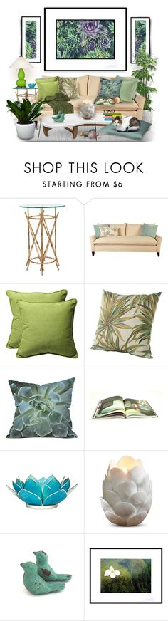 """Sem título #9217"" by reluna ❤ liked on Polyvore featuring interior, interiors, interior design, home, home decor, interior decorating, Safavieh, Pillow Perfect, Dot & Bo and GESTALTEN"