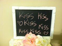 Chalkboard Shabby Chic Chalkboard Wedding by WhimsicalLoveBirds, $15.95