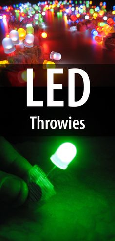 An inexpensive way to add glowing color to any magnetic surface. Fun and easy!
