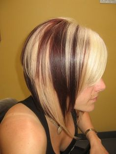 beautiful chunks of blonde more makeup hairstyles hairs nails makeup ...