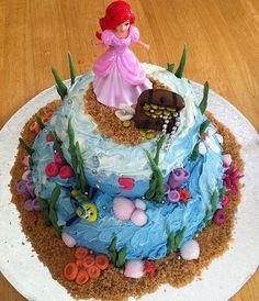 Ariel birthday cake | Flickr - Photo Sharing!