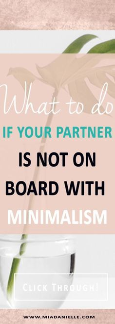 What to do if your partner is not on board