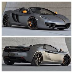 Perfection in the form of a McLaren MP4-12C Spider