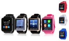 Groupon - Smartwatch bluetooth con podómetro desde 14,90 € (hasta 85% de descuento). Precio Groupon: 14,90€
