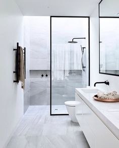 Black & White... Bathroom Project