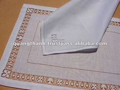 Portuguese handmade linen | embroidery placemat,View embroidery table placemats,Quang Thanh ...