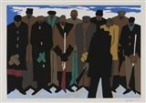 Jacob Lawrence - 22 works The Legend of John Brown... on MutualArt.com