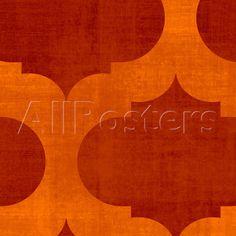 Abstract Orange I Plakát na AllPosters.cz.