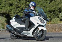 2013 Suzuki Burgman 650 ABS, featured in the December 2013 issue of Rider magazine.