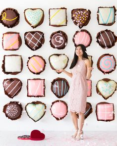 Chocolate Assortments Balloon Backdrop   Oh Happy Day!