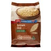 Coles Brown Rice 1kg everyday product
