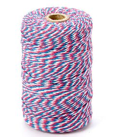 This Turquoise & Pink Ombre Twine is perfect! #zulilyfinds