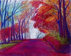 Autumn Path, Signed & Numbered Art Print