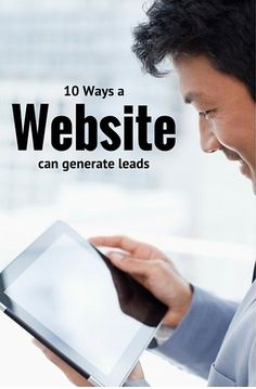 Most small businesses want their website to generate leads — but, unfortunately, most small business websites are not built to do so.