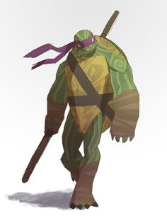 The Don by Corey-Smith on DeviantArt Ninja Turtles Art, Teenage Mutant Ninja Turtles, Tmnt, Character Concept, Character Design, Concept Art, Dnd Races, Mikey, Bd Comics