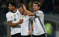 Two goals from Thomas Muller and one from Toni Kroos got Joachim Loew's Germany rolling on full force against the Czech Republic during their World Cup Qualifiers.