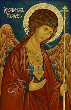 The Holy Archangel Michael. Byzantine Icons, Byzantine Art, Religious Icons, Religious Art, Madonna, I Believe In Angels, Russian Icons, Catholic Saints, Guardian Angels