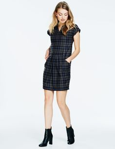 Modern Tweed Shift WH959 Special Occasion Dresses at Boden