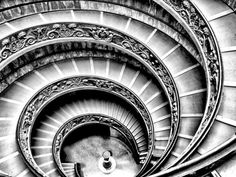 Spiral Staircase Fotoprint van Andrea Costantini bij AllPosters.nl