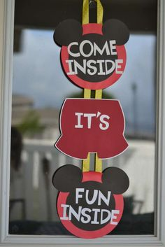 Mickey and Minnie Mouse Birthday Party Ideas | Photo 12 of 21 | Catch My Party